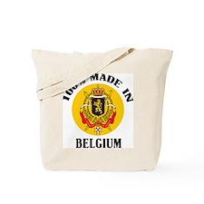 100% Made In Belgium Tote Bag