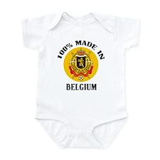 100% Made In Belgium Infant Bodysuit