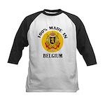 100% Made In Belgium Kids Baseball Jersey