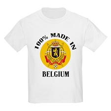 100% Made In Belgium Kids T-Shirt