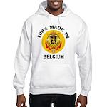 100% Made In Belgium Hooded Sweatshirt