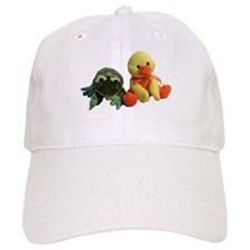 Frog and Ducky friends Baseball Cap