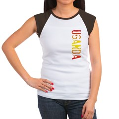 Uganda Women's Cap Sleeve T-Shirt