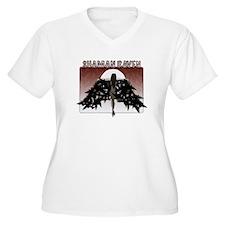 Shaman Raven Plus Size T-Shirt