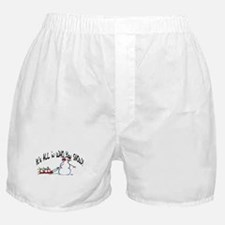 All in who you SNOW Boxer Shorts