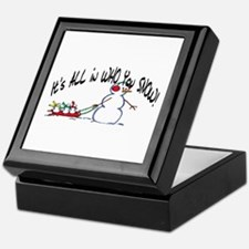 All in who you SNOW Keepsake Box