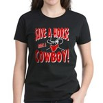 Ride Me Women's Dark T-Shirt