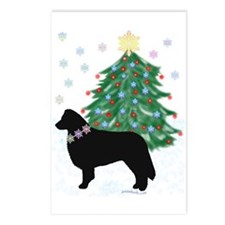Yuletide Collie Postcards (Package of 8)