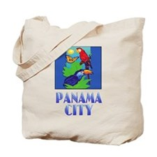 Macaw, Parrot, Butterfly, Jungle PANAMA CITY Tote