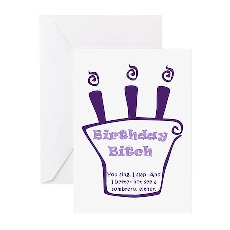 birthday girl Greeting Cards (Pk of 10)