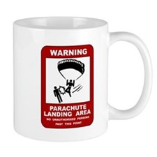 Parachute Landing Area Skydiving Mug