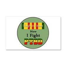 I Fought In Vietnam Now I Fight PTSD Car Magnet 20