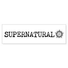 Supernatural Bumper Bumper Stickers Bumper Bumper Stickers