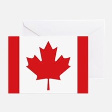 Canada National Flag Greeting Cards (Pk of 10)