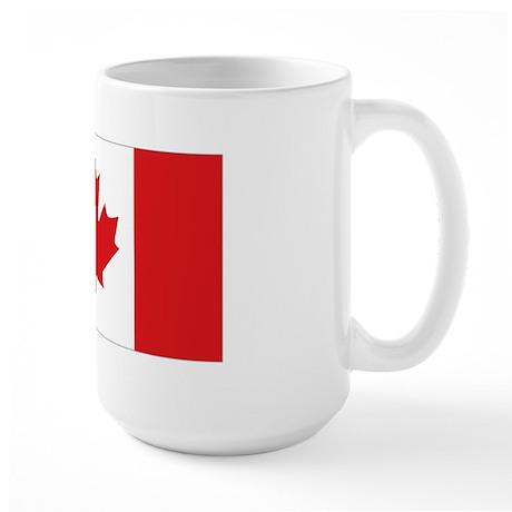 Canada National Flag Large Mug