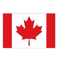 Canada National Flag Postcards (Package of 8)