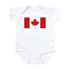 Canada National Flag Infant Bodysuit