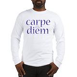 Carpe diem Long Sleeve T-shirts