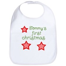 Tommy's first christmas Bib