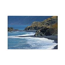 Northern Coast California  Rectangle Magnet