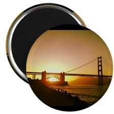 Golden Gate Sunset  Magnet