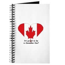 Canadian flag fan Journal
