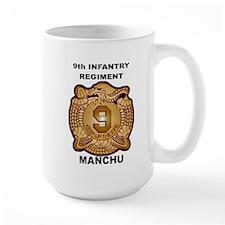 9th Infantry Regiment Manchu Mugs