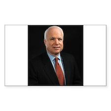 John McCain Rectangle Decal