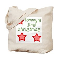 Tommy's first xmas Tote Bag