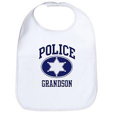Police GRANDSON (badge) Bib