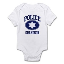 Police GRANDSON (badge) Infant Bodysuit