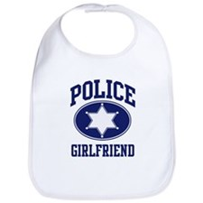 Police GIRLFRIEND (badge) Bib