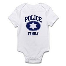 Police FAMILY (badge) Infant Bodysuit