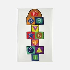HOPSCOTCH Rectangle Magnet