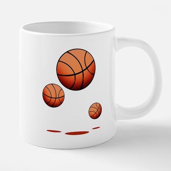 Basketball (B) 20 oz Ceramic Mega Mug
