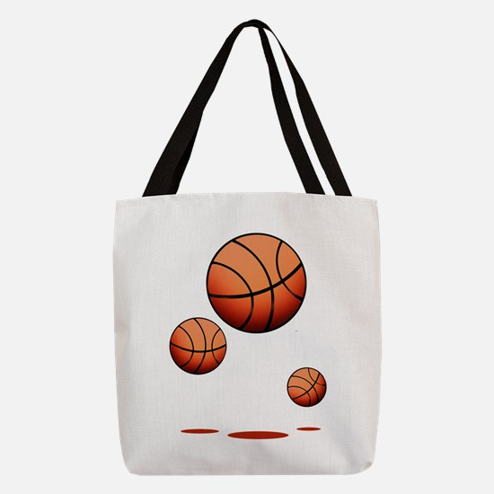 Basketball (B) Polyester Tote Bag