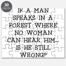 IF A MAN SPEAKS Puzzle