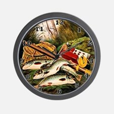Brook Trout Wall Clock