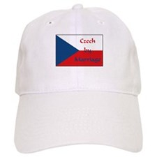 Czech by Marriage Baseball Cap