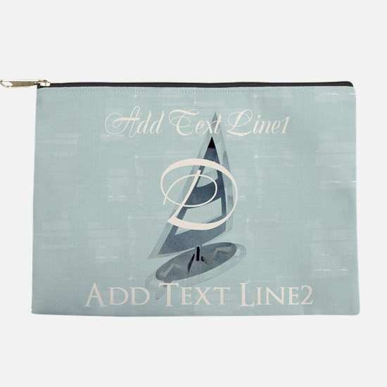 Sailing To School Makeup Pouch