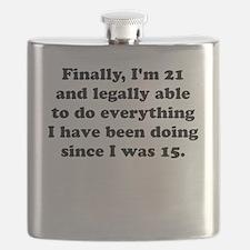 Finally im 21 Flask