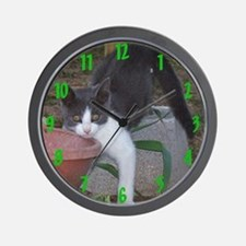 Grey Alley Wall Clock