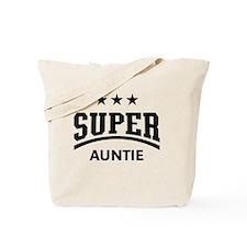 Super Auntie (Black) Tote Bag