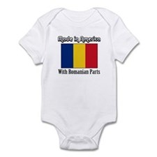 Romanian Parts Infant Bodysuit
