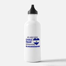 El Salvadorian husband designs Water Bottle