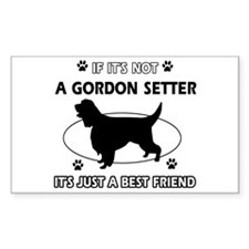 gordon setter Best Friend Designs Decal