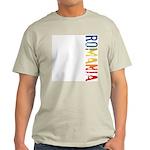 Romania Ash Grey T-Shirt