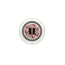 Red Mini Button