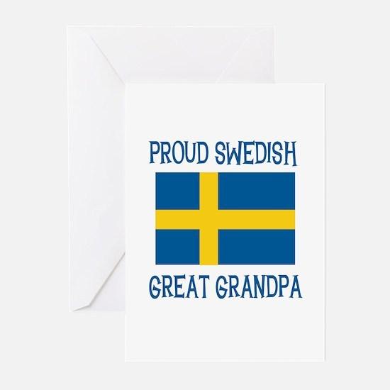 Swedish Great Grandpa Greeting Cards (Pk of 10