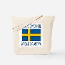 Swedish Great Grandpa Tote Bag